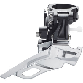 Shimano Deore FD-M611 Forskifter 3x10-speed hurtig dual-pull, black